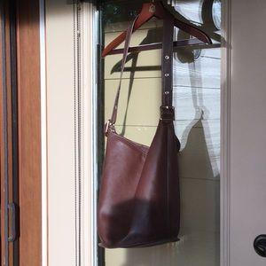 Ladies Authentic Coach Bucket Bag
